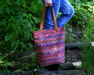 Shopper vegan etno rudy